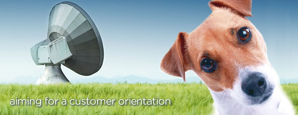 Aiming for a customer orientation