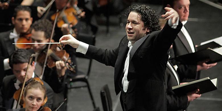 photo of Gustavo Dudamel